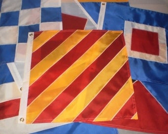 Nautical Signal Flags 18x18 INCH