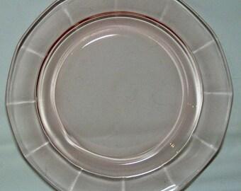 Set of 4 Fostoria Fairfax No. 2375 Pink 7.5 in. Plates