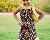 PDF/Pattern Girls Dress and Tunic, Oh So Chic Harlow Monroe sizes 12m to 14/16 Now Instant Download