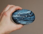 Felted Soap with Scorpius Constellation ( Neroli )