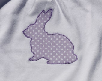 Cute Little Bunny Shirt Or Bodysuit to Welcome Spring