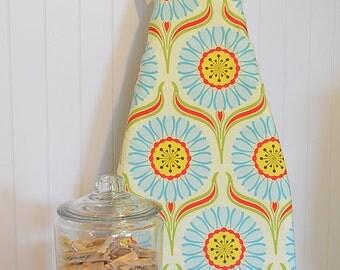Designer Ironing Board Cover - Heather Bailey Pop Garden Daisy Red