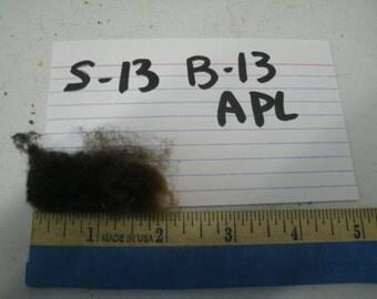 Raw Whole Fleece Sheep Fiber B-13 APL