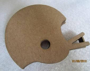 DIY Football Helmet Decorations-Chipboard Blanks - DIY Crafts- Shapes for Decorating- Football Helmet Unfinished