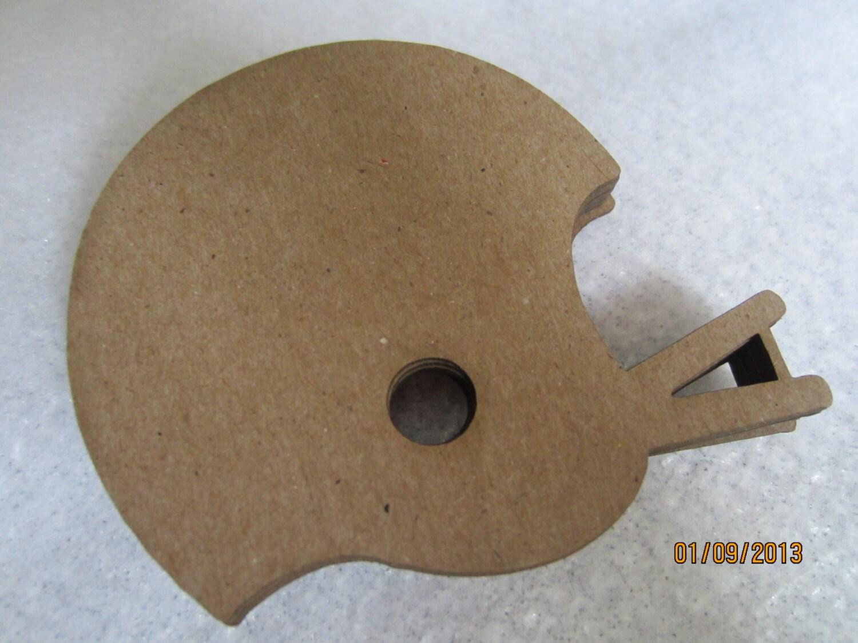 foto de DIY Football Helmet Decorations Chipboard Blanks DIY Crafts