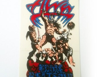Vintage Alva Eddie Reategui Skateboard Sticker 1988
