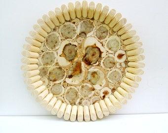 Juniper Wood Platter, Natural Handmade Bowl, Dish, Lovely Gift, Home Decor, Kitchen Utensil, Untreated Wood