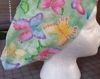 Butterflies Scrub Hat