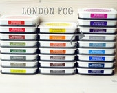 Large MEMENTO  raised dye ink pad LONDON FOG