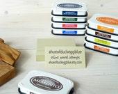 3/4 Line Business Promotion Olive Wood Stamp