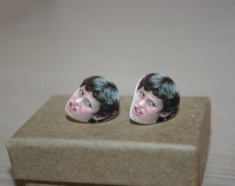 Sam Weir Freaks and Geeks Stud Earrings Television Celebrity Jewelry