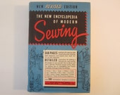 Vintage New Encyclopedia of Modern Sewing  1949 How-To Book