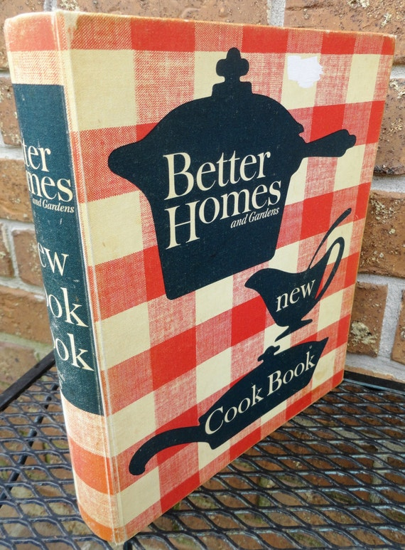 1962 Cookbook Better Homes And Gardens Third Printing