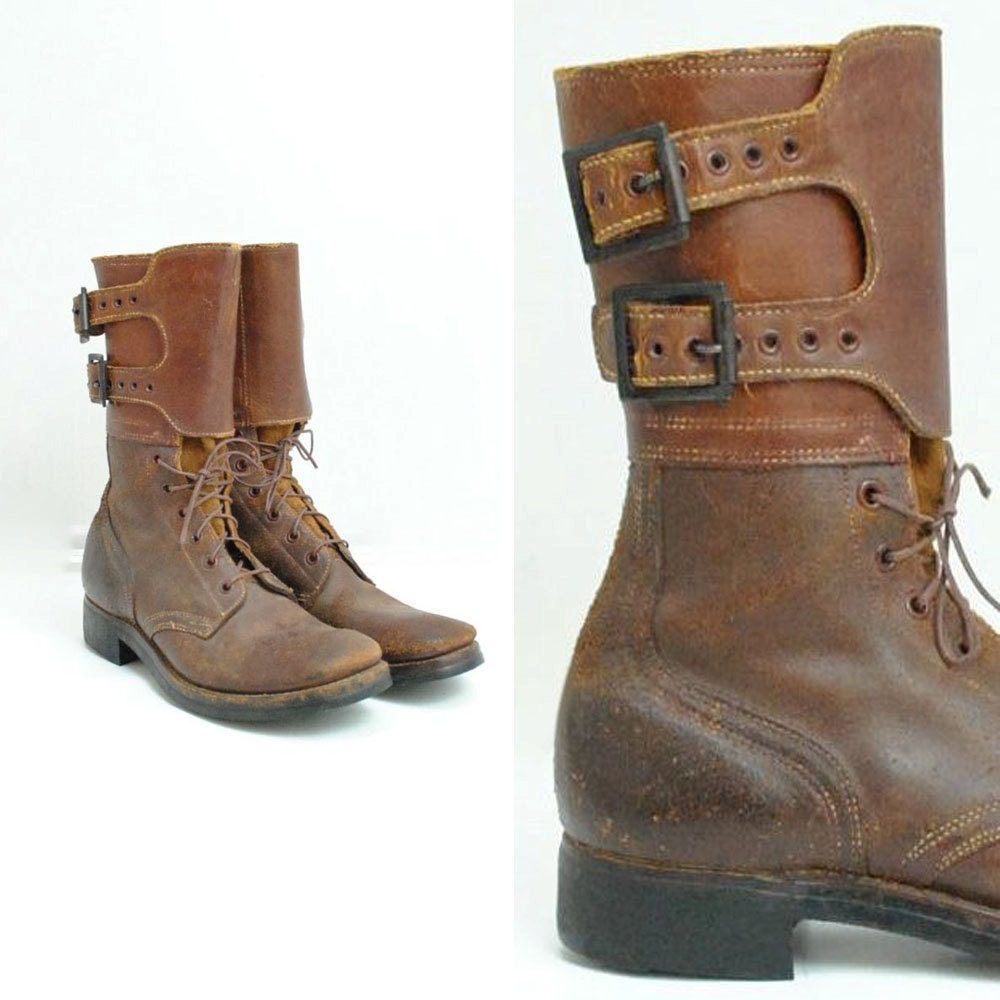 paratrooper boots size 7men 8 wom lace up boots jump