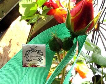 Rayon Seam Binding Ribbon Kelly Green