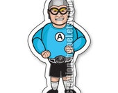 Aquabats Super Show Crash McLarson Magnet