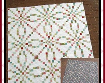 Braided Irish Chain - PDF Quilt Pattern with 6 size options