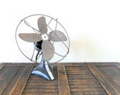 industrial chic adjustable kwikway zip electric desk fan - urban - metal - office decor