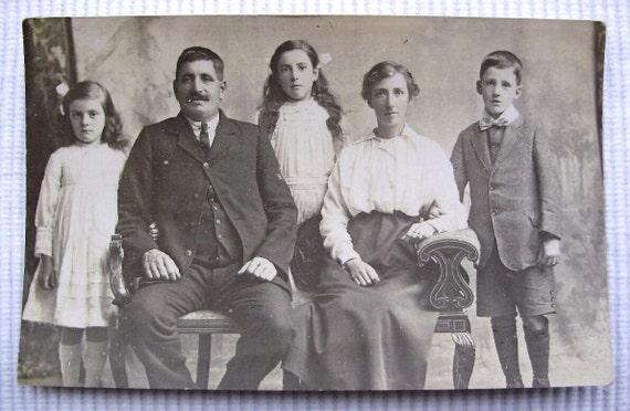 English Photo - Sailors Family Photograph (Dover, Kent)