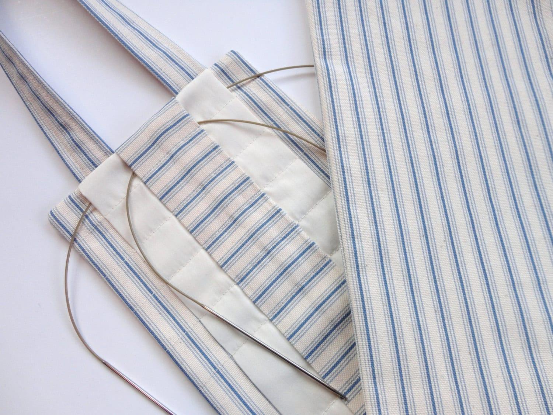 Knitting Needle Organizer Pattern : Hanging Knitting Needle Organizer Circular Needle Storage
