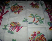 Vintage MEXICANA Themed GRAPHIC Kitchen or Bar Towel
