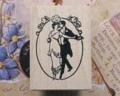 Shall We Dance Wedding Stamp (1.2 x 1.6in)