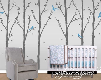 Wall Decal Nursery Tree Wall Decals Decals With Birds