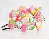 Mod Spring Daisy Paper Mache Headband