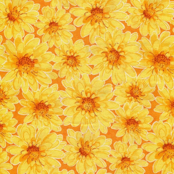 Penelope S Daisy Blank Quilting Closeout Fabric 1