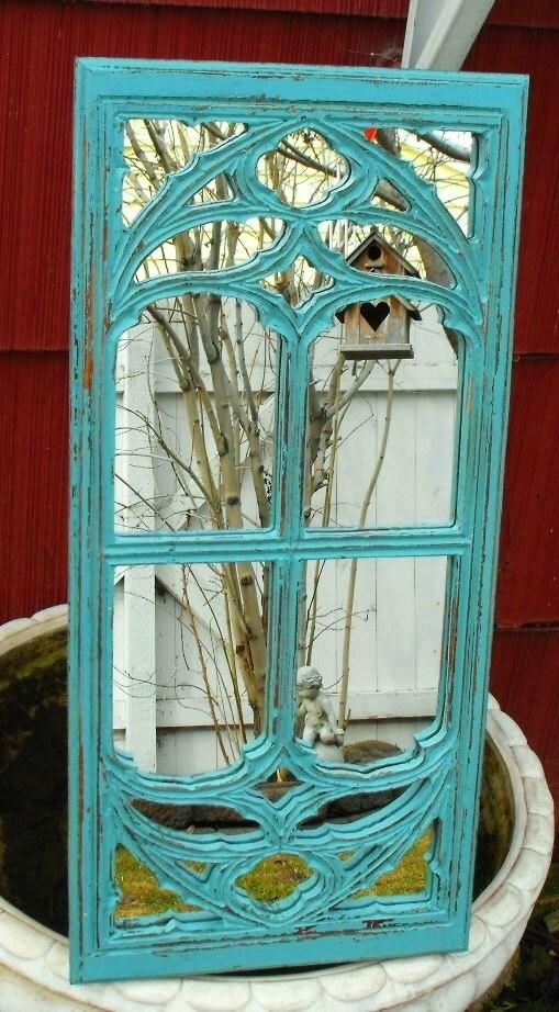 Teal window frame mirror for Teal framed mirror
