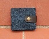Harris tweed men's wallet