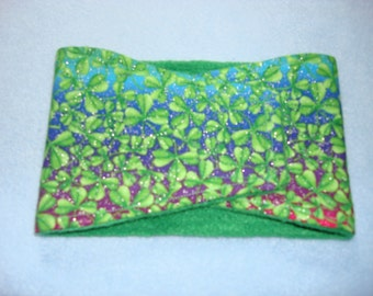 Male Dog Diaper / Belly Band - St. Patrick's Day - Shamrocks and Rainbows - Available in all sizes