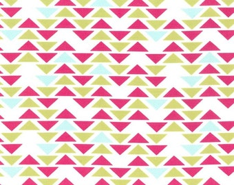 SALE - *** - Technicolor - Triplet in Fuschia by Emily Herrick- 1 yard - Michael Miller Fabric