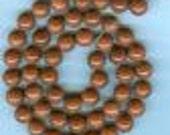 "16"" Strand 8.2m Round Sparkeling Gold Stone Sand Stone Beads A387"