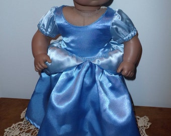 Cinderella dress for Bitty Baby Doll
