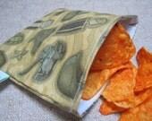 Reusable Snack Bag - Army
