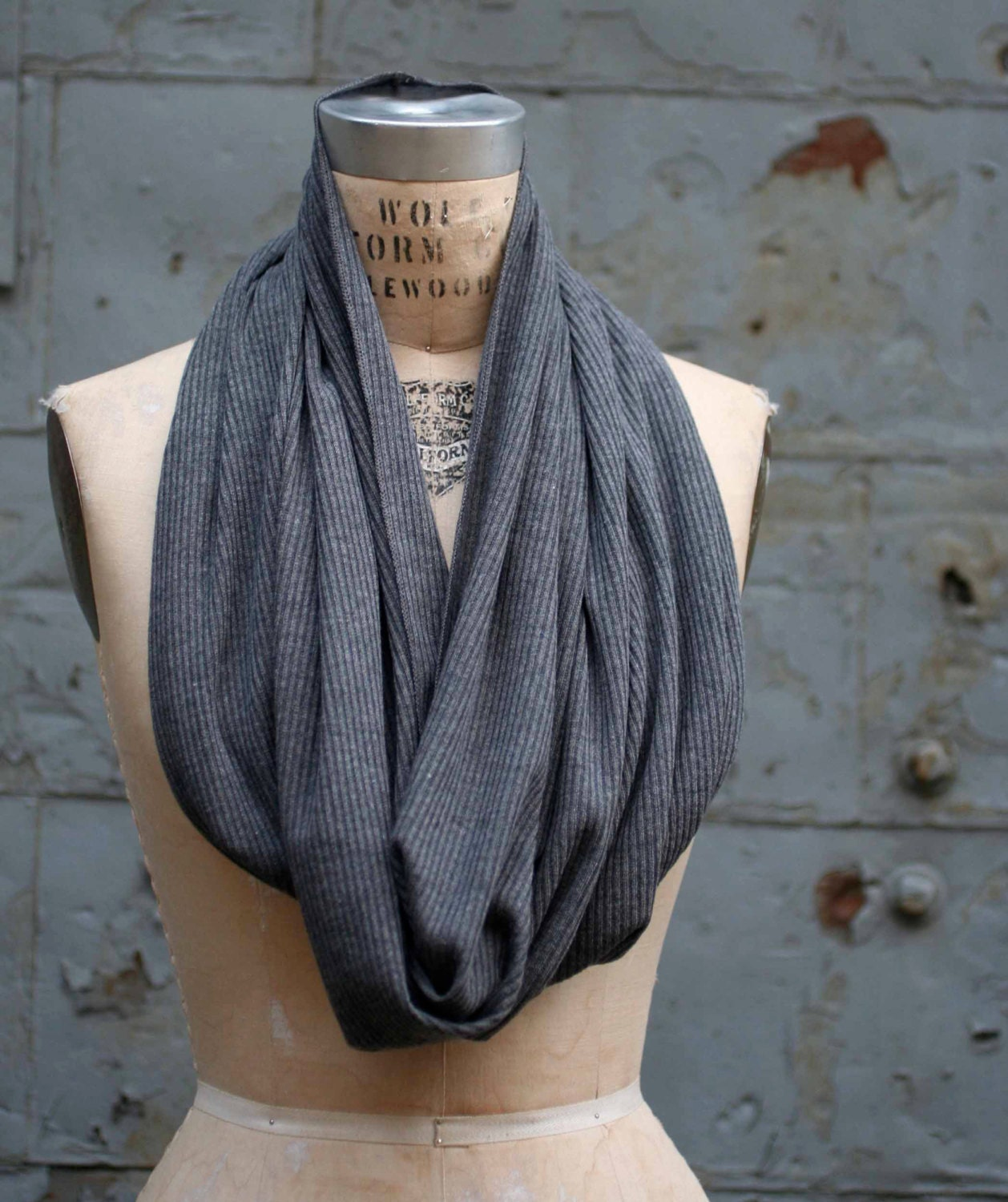 sale gray infinity scarf s scarves s by halfration