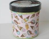 Ice Cream Cozy - Pink Cones