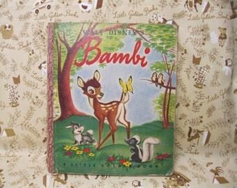Bambi Little Golden Book - A Edition