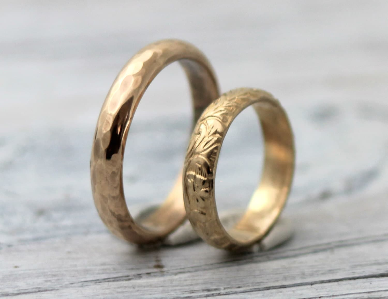 His and Hers Couples Rings-His and Hers wedding Rings Modern