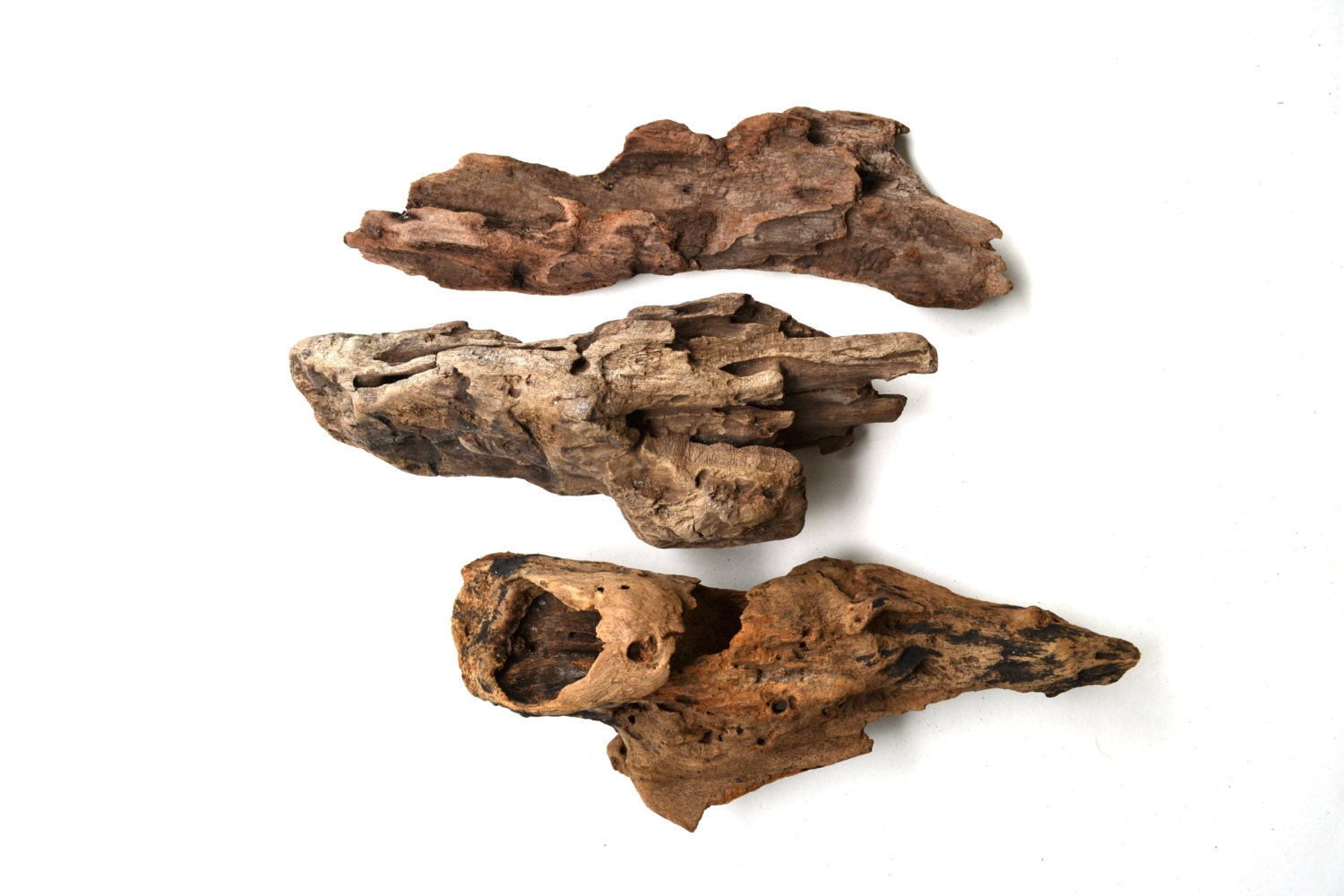 3 unique driftwood pieces for craft projects aquarium or for Craft ideas for driftwood