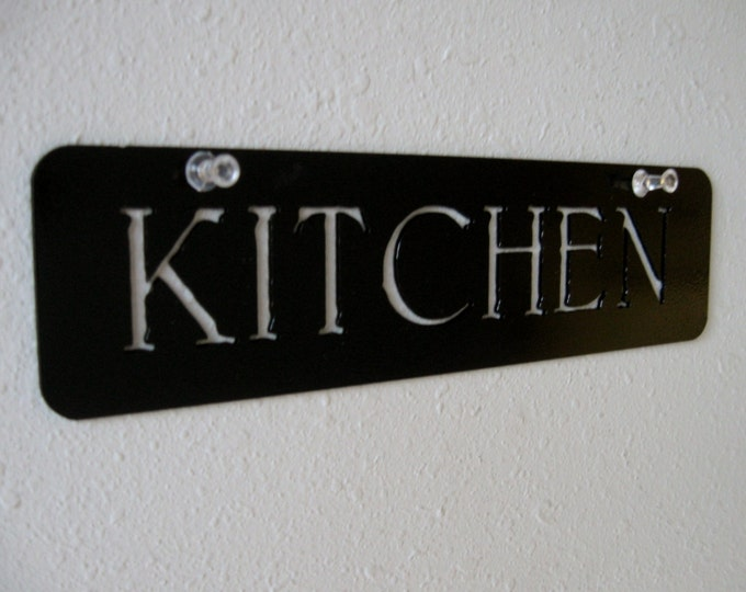 Metal Kitchen Sign