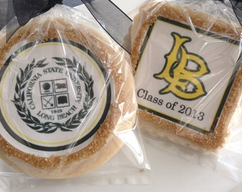 Personalized graduation cookies--1 Dozen
