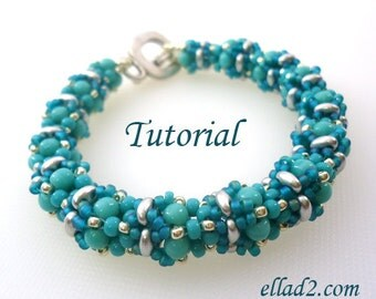 Tutorial Babiole bracelet - Instant download PDF
