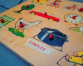 Simplex household objects puzzle