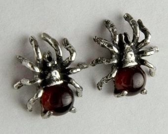 Blood Spider Post Earrings