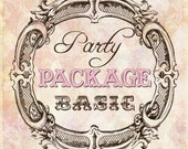 DIY Printable Party Package Made To Match Any Invitation In The Shop -- BASIC PACKAGE