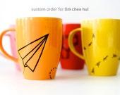 Hand Painted Mug - Custom Order