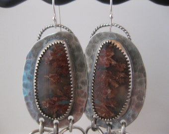 Sale Prudent Man Agate Earrings