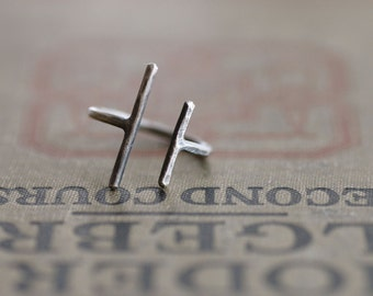 The Original Parallel Bars - Sterling Silver Ring - Made to Order